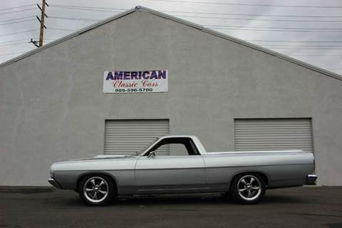 1969 Ford Ranchero for sale at American Classic Cars in La Verne CA