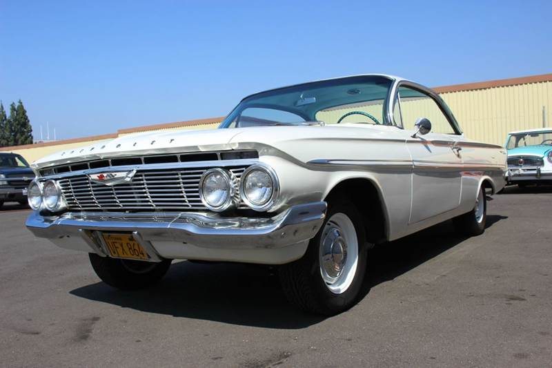 1961 Chevrolet Bel Air for sale at American Classic Cars in La Verne CA
