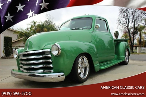 1947 Chevrolet 3100 for sale at American Classic Cars in La Verne CA