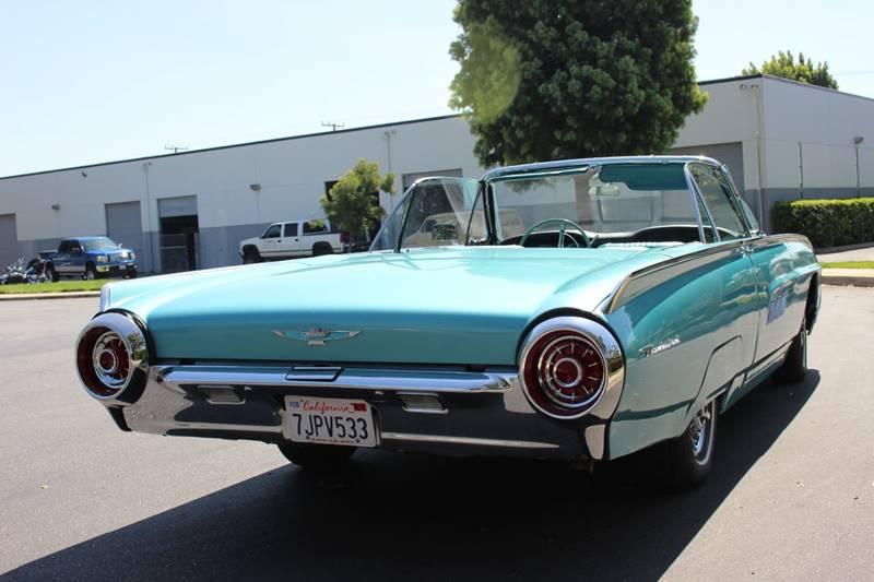 1963 Ford Thunderbird In La Verne Ca American Classic Cars