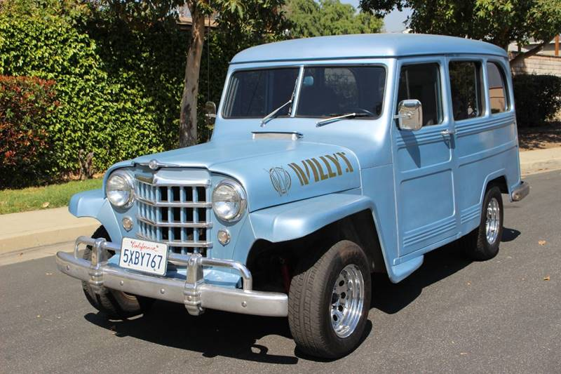1952 Willys STATION WAGON for sale at American Classic Cars in La Verne CA