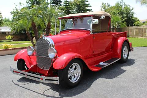 1928 Ford Model A for sale at American Classic Cars in La Verne CA