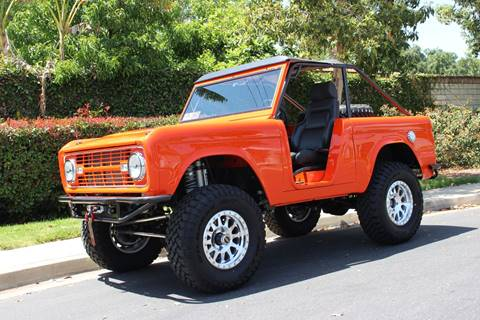 1976 Ford Bronco for sale at American Classic Cars in La Verne CA