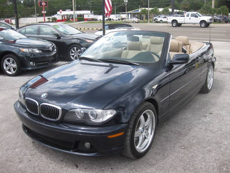 Bmw Series Ci Dr Convertible In Jacksonville FL CARS - 2006 bmw 325ci convertible