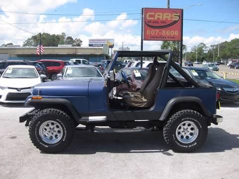 1987 Jeep Wrangler for sale in Jacksonville, FL