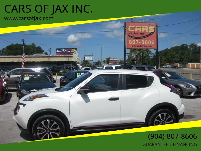 2015 Nissan JUKE SL 4dr Crossover   Jacksonville FL
