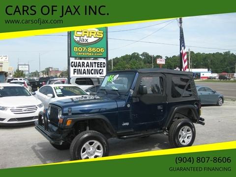 2005 Jeep Wrangler for sale in Jacksonville, FL