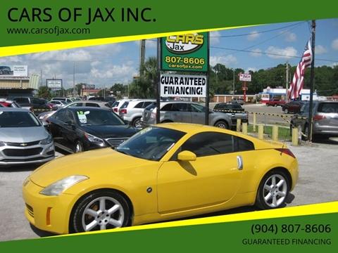 2005 Nissan 350Z for sale in Jacksonville, FL