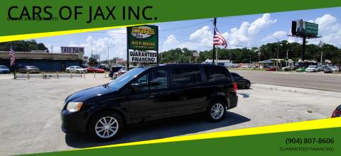 2014 Dodge Grand Caravan for sale at CARS OF JAX INC. in Jacksonville FL