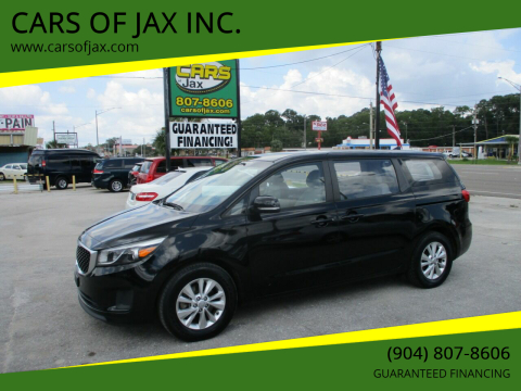 2015 Kia Sedona for sale at CARS OF JAX INC. in Jacksonville FL