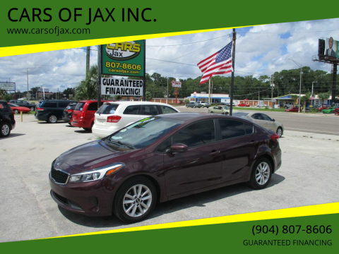 2017 Kia Forte for sale at CARS OF JAX INC. in Jacksonville FL