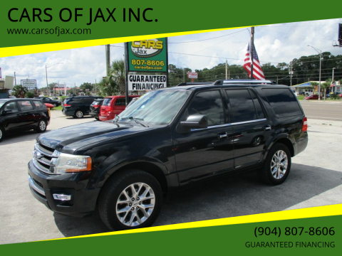 2015 Ford Expedition for sale at CARS OF JAX INC. in Jacksonville FL