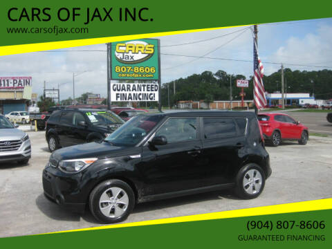 2016 Kia Soul for sale at CARS OF JAX INC. in Jacksonville FL