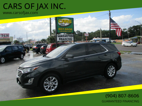 2018 Chevrolet Equinox for sale at CARS OF JAX INC. in Jacksonville FL