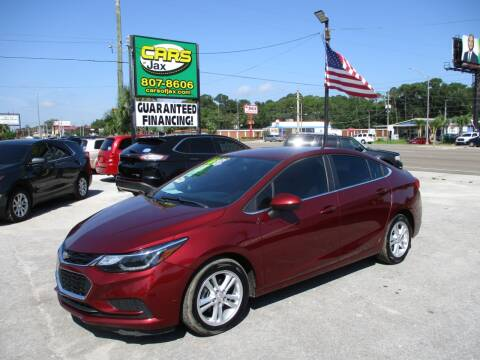 2016 Chevrolet Cruze for sale at CARS OF JAX INC. in Jacksonville FL