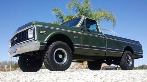 1970 Chevrolet C/K 10 Series for sale at Specialty Motors LLC in Land O Lakes FL