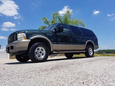2003 Ford Excursion for sale at Specialty Motors LLC in Land O Lakes FL