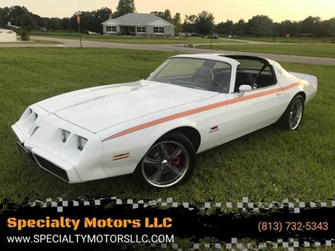 1980 Pontiac Firebird for sale in Land O Lakes, FL