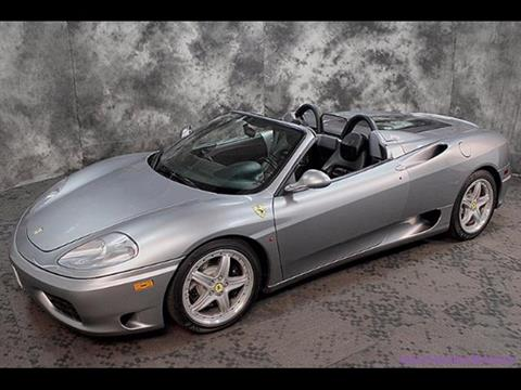 Ferrari 360 Spider For Sale in Milford, NH - Carsforsale.com