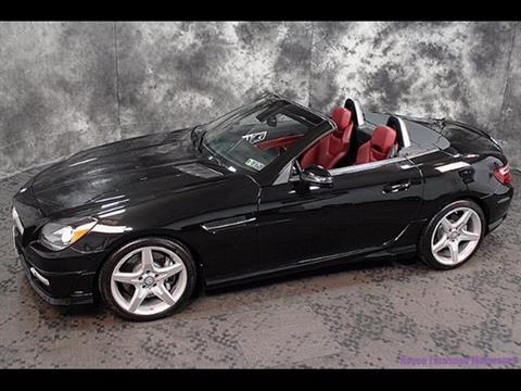 2013 Mercedes-Benz SLK for sale in Kingston, PA