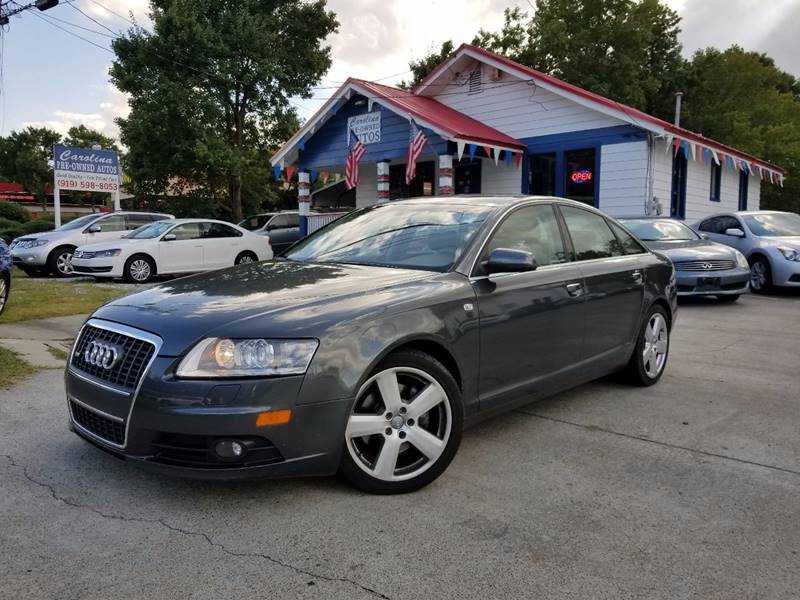 2007 audi a6 3 2 quattro in durham nc carolina pre owned autos inc. Black Bedroom Furniture Sets. Home Design Ideas