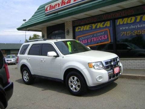 2011 Ford Escape for sale at Cheyka Motors - Used Vehicles in Schofield WI