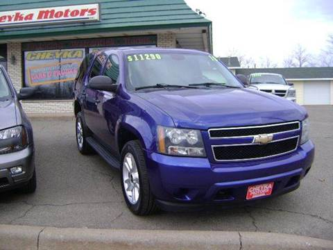 2010 Chevrolet Tahoe for sale at Cheyka Motors - Used Vehicles in Schofield WI
