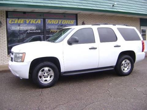 2010 Chevrolet Tahoe for sale at Cheyka Motors in Schofield WI
