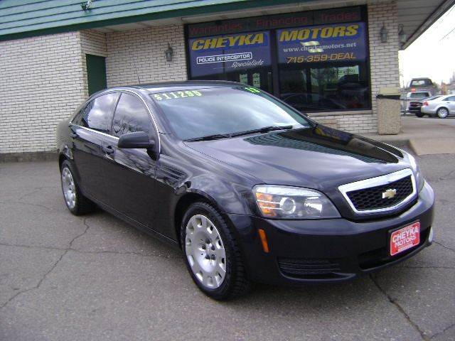 2013 Chevrolet Caprice for sale at Cheyka Motors - Used Vehicles in Schofield WI
