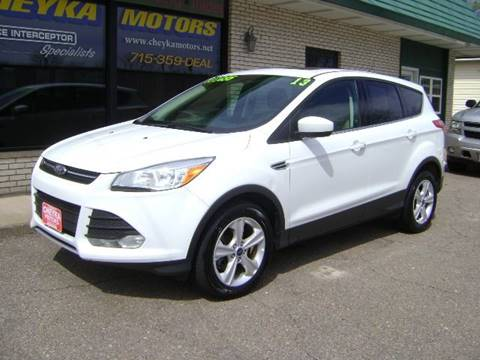 2013 Ford Escape for sale at Cheyka Motors in Schofield WI