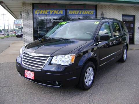 2010 Chrysler Town and Country for sale at Cheyka Motors in Schofield WI