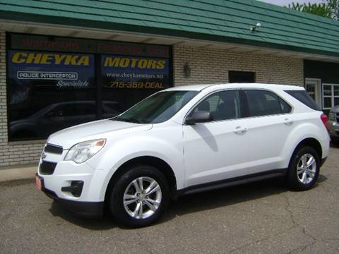 2012 Chevrolet Equinox for sale at Cheyka Motors in Schofield WI