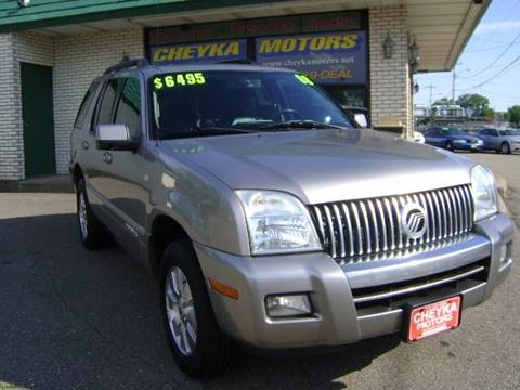 2008 Mercury Mountaineer for sale at Cheyka Motors in Schofield WI