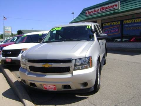 2011 Chevrolet Tahoe for sale at Cheyka Motors in Schofield WI