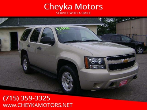 2012 Chevrolet Tahoe for sale at Cheyka Motors - Used Vehicles in Schofield WI
