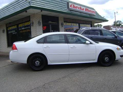 2015 Chevrolet Impala Limited Police for sale at Cheyka Motors in Schofield WI