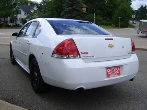 2015 Chevrolet Impala Limited Police for sale at Cheyka Motors - Used Vehicles in Schofield WI