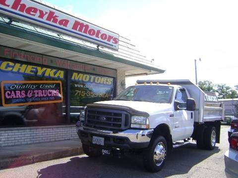 2004 Ford F-450 for sale at Cheyka Motors in Schofield WI