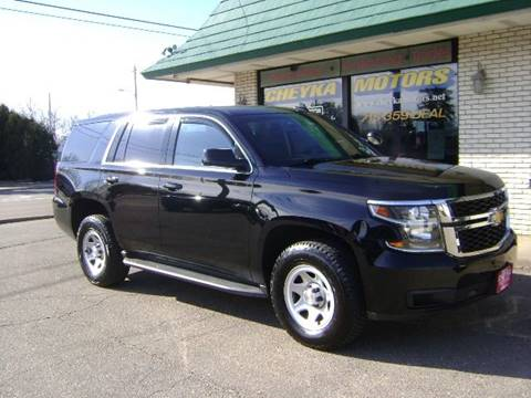 2016 Chevrolet Tahoe for sale at Cheyka Motors in Schofield WI