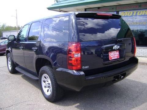 2011 Chevrolet Tahoe for sale at Cheyka Motors in Schofield WI