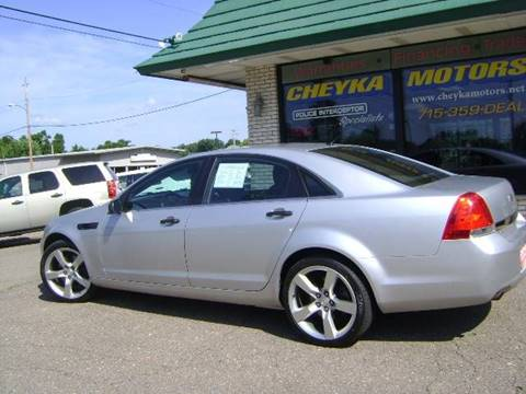 2015 Chevrolet Caprice for sale at Cheyka Motors in Schofield WI