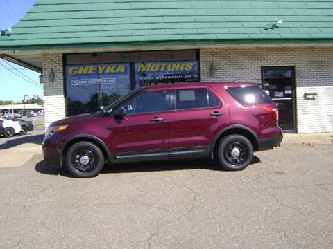 2015 Ford Explorer for sale at Cheyka Motors in Schofield WI