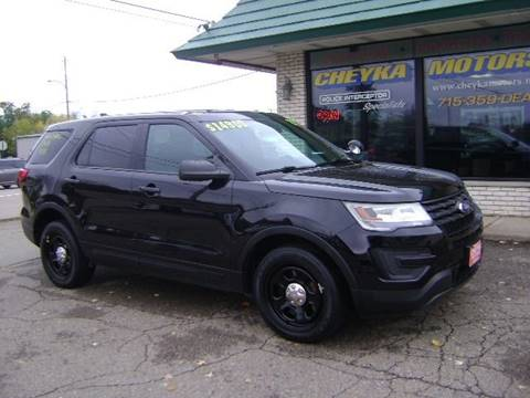 2017 Ford Explorer for sale at Cheyka Motors in Schofield WI