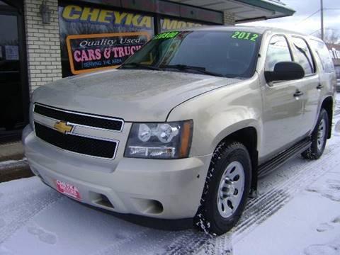 2012 Chevrolet Tahoe for sale at Cheyka Motors in Schofield WI