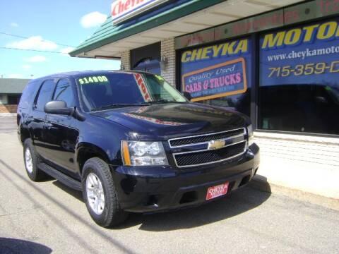 2014 Chevrolet Tahoe for sale at Cheyka Motors in Schofield WI
