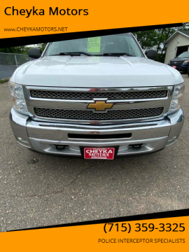 2013 Chevrolet Silverado 1500 for sale at Cheyka Motors in Schofield WI
