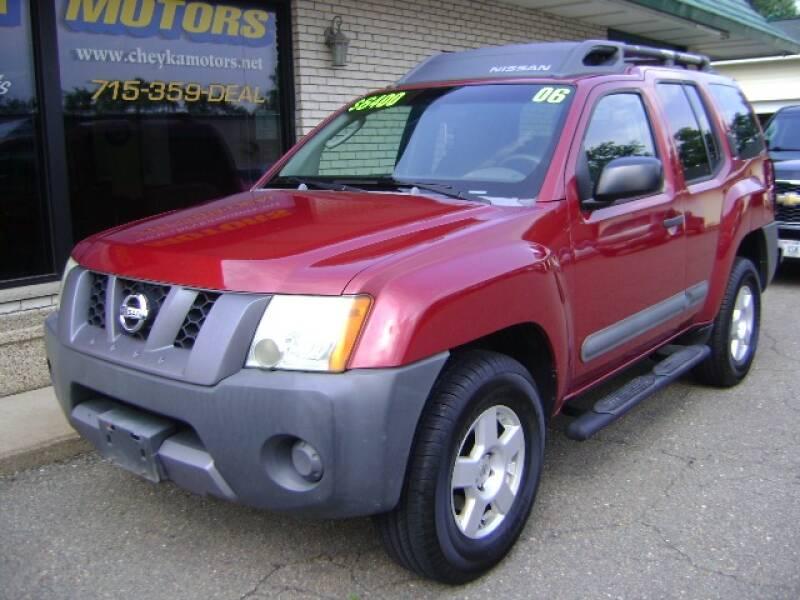 2006 Nissan Xterra for sale at Cheyka Motors in Schofield WI