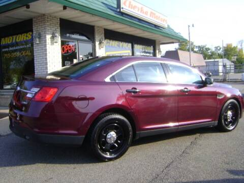 2017 Ford Taurus for sale at Cheyka Motors in Schofield WI
