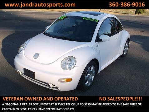 2002 Volkswagen New Beetle for sale in Marysville, WA