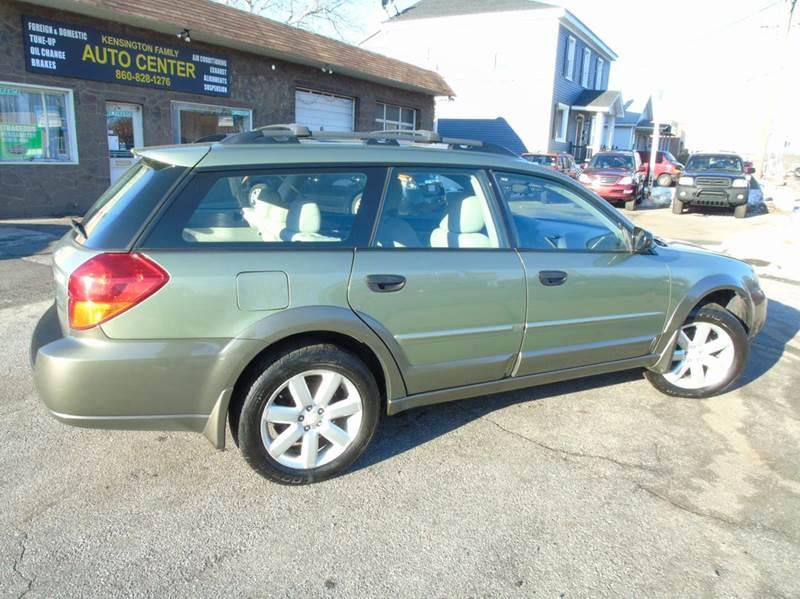 2006 Subaru Outback AWD 2.5i 4dr Wagon w/Automatic - Kensington CT